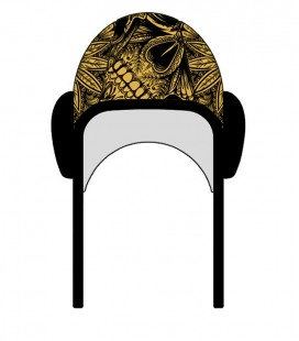 Gorro Waterpolo Gold Skull