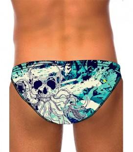 Waterpolo Sea Skull Man