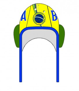 Gorro Waterpolo Brazil