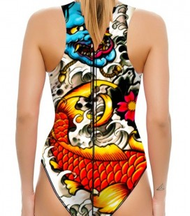 Waterpolo Yakuza Woman