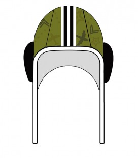 Gorro Waterpolo Military Hockey