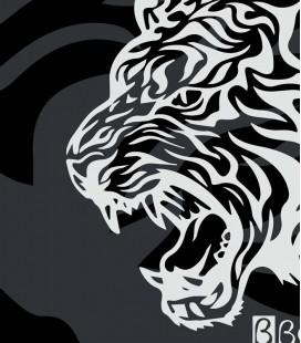 Silicone Cap Tiger