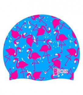 Silicone Cap Flamingo