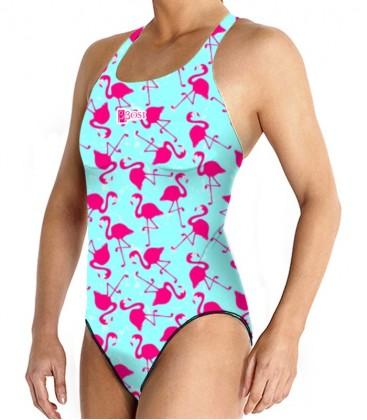 Waterpolo Flamingo Woman
