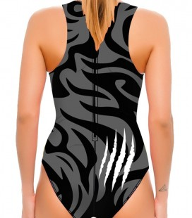 Waterpolo Tiger Woman