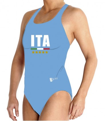 Waterpolo Blue Italy Woman
