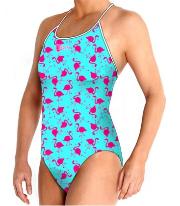 Thin Straps Flamingo