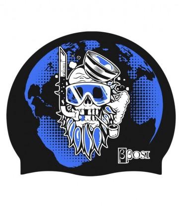 Silicone Cap Surf Skull