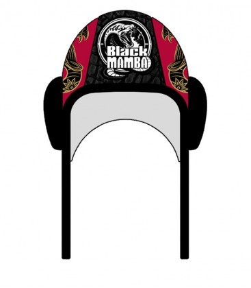 Waterpolo Cap Black Mamba