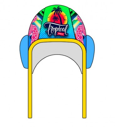 Waterpolo Cap Tropical