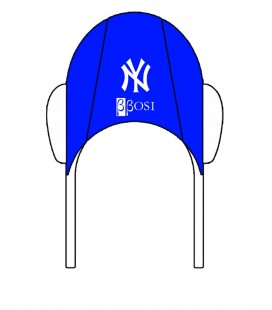 Waterpolo Cap NY Yankees Blue