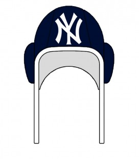 Waterpolo Cap NY Yankees Navy