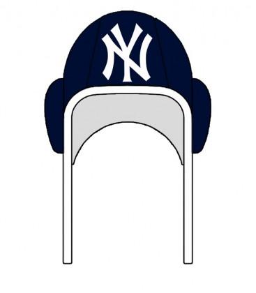 Waterpolo Cap NY Yankees Navy