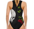 Waterpolo Skull Rose Woman