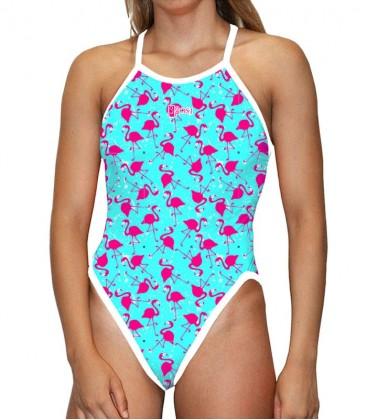 Classic Swimsuit Flamingo