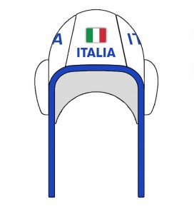 Waterpolo Cap Italy 2020 White
