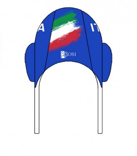 Waterpolo Cap Italy 2020 Blue