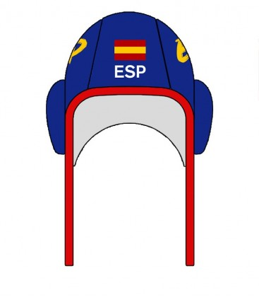 Waterpolo Cap Spain 2020 Blue
