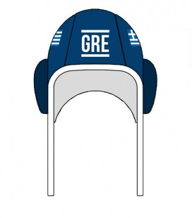 Waterpolo Cap Greece 2020 Blue