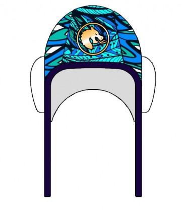 Waterpolo Cap Dragon Blue
