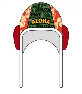 Waterpolo Cap Totem Hawaii