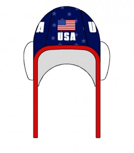 Waterpolo Cap USA 2020 Blue