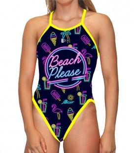 Classic Swimsuit Neon