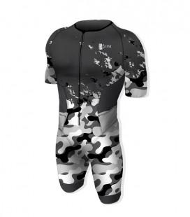 Aero Trisuit Army Grey
