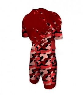 Aero Trisuit Army Red