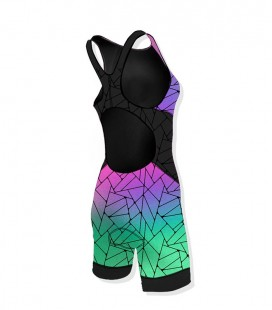 Woman Trisuit Olograpic