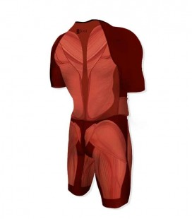Aero Trisuit Human Body