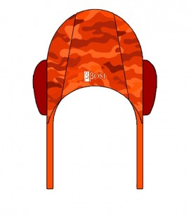 Waterpolo Cap Camo Orange