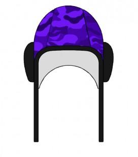 Waterpolo Cap Camo Purple