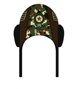 Waterpolo Cap Army Brown