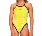 Classic Swimsuit Snake Yellow