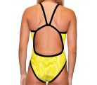 Classic Swimsuit Snake Yellow