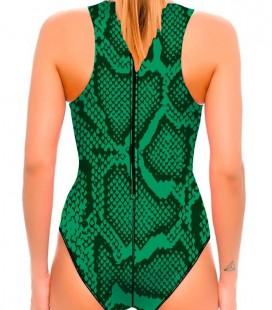 Waterpolo Snake Green Woman