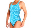 Waterpolo Snake Blue Woman