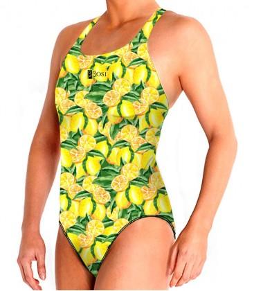 Large Straps Lemon