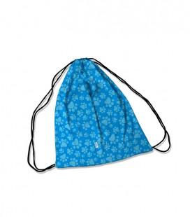 Backpack Dog Print Blue