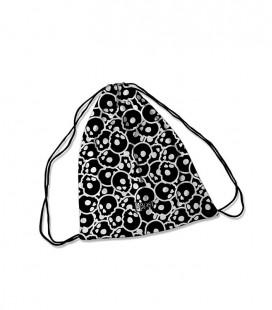 Backpack Pattern Skull Black