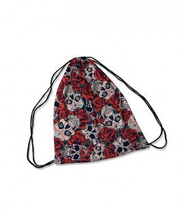 Backpack Skulls and Roses
