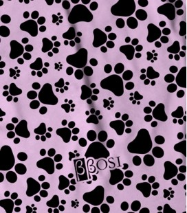 Backpack Dog Print Pink