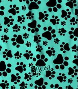 Backpack Dog Print Green