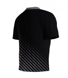 Running T-shirt Stripes Silver