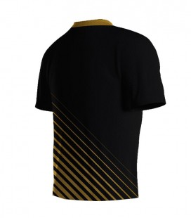 Running T-shirt Stripes Gold