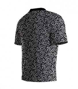 Running T-shirt Skull Black