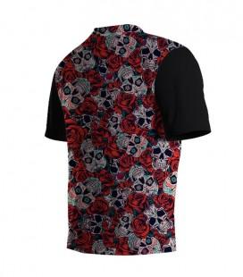 Running T-shirt Skulls and Roses