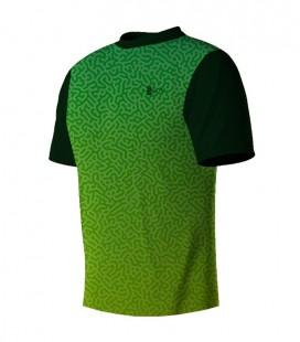 Running T-shirt Maze Green