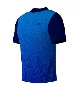 Running T-shirt Maze Blue